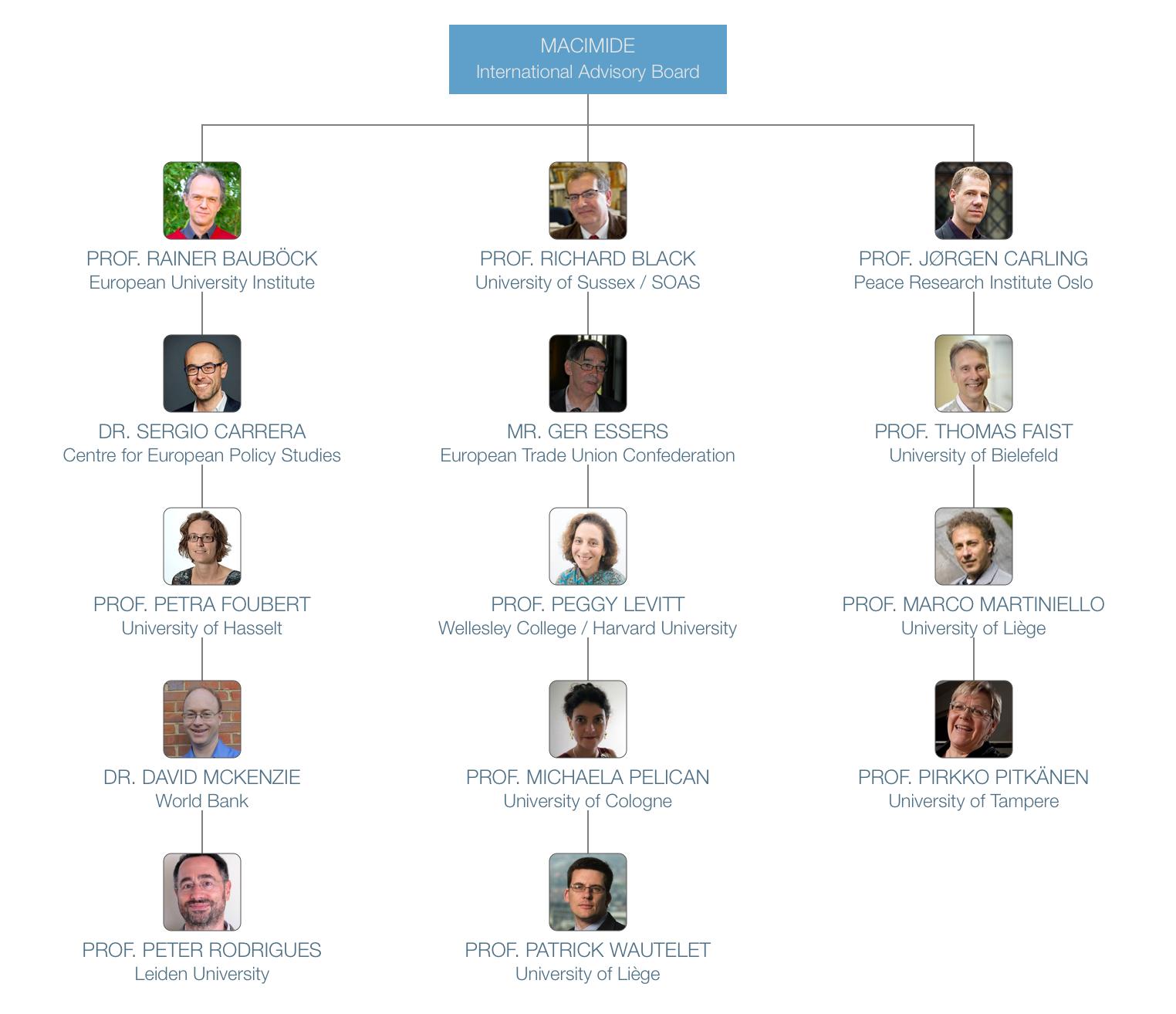 MACIMIDE Advisory Board